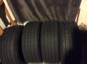 Four Hurcules Avalanche winter tires 205/50/16