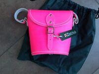 Zatchels Pink Saddle Bag