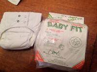 All-in-One Cloth Diapers (AIO) 5 Diapers for $10