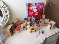 Dolls house items