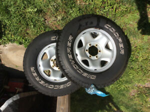 Tacoma Tires & Rims