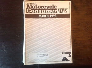 Vintage Motorcycle Consumer News