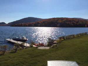 Magnifique chalet bord de lac/ 4 chambres/ site enchanteur
