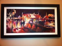 Picture of London by Csilla Orban - Original Oil Painting