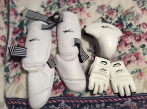 Tae Kwon Do Sparring gear for Sale !