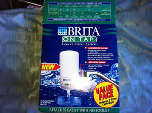 new in box brita on tap water filter