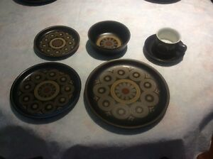 "DENBY ""ARABESQUE"" SET OF 6  DINNERWARE"