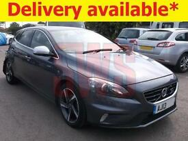 2013 Volvo V40 R-Design Lux Nav D2 1.6 DAMAGED REPAIRABLE SALVAGE