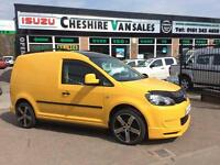 2011 61 VW CADDY 1.6 C20 TDI BLUEMOTION 102 BHP FSH SPORTLINE R LINE STYLE