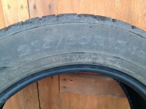 215/60/17 Nordman winter tires (Set of 2) London Ontario image 4