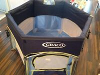 Graco Playpen for baby toddler (as good as new)
