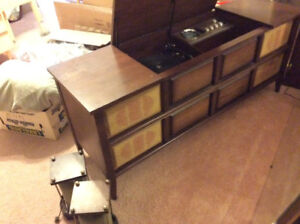 Vintage Hifi stereo console