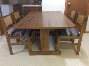 Reduced again-like new kitchen table and chairs.
