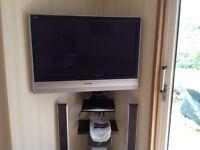 Panasonic Viera plasma Television and DVD