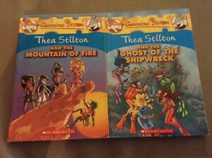 4 Thea Stilton books London Ontario image 2