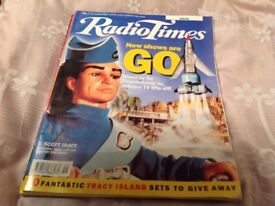 Collectable Thunderbirds Radio Times Magazines Sept 2000