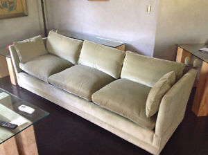 7 1/2 foot Moss Green Couch
