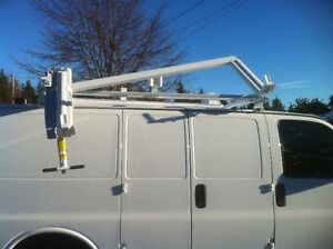 Van  Ladder Rack, drop down style