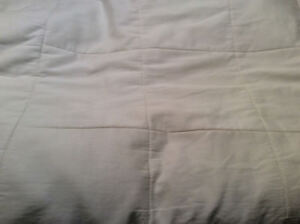 Queen size Matress pad/cover white color. Pick up Kel or West K