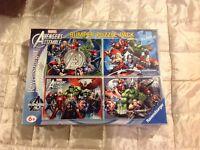 Avengers puzzles x4