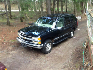 1996 Chev Tahoe limited edition turbo diesel 1 of only 500 built