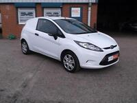10REG FORD FIESTA 1.4 TDCI VAN 70BHP WITH ULTRA LOW 40,000 MILES 1 OWNER CHOICE