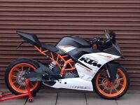 KTM RC 390 ABS 2016. Only 3323miles. A2 License. Nationwide Delivery Available..