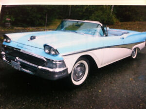 1958 ford retractable skyliner
