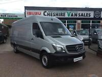 2015 15 MERCEDES-BENZ SPRINTER 2.1 313 CDI LWB 130 BHP CHOICE IN STOCK FSH DIES