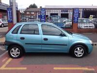 Vauxhall/Opel Corsa 1.2i 16v 2003MY GLS 12 MONTHS MOT AND FULL VALET