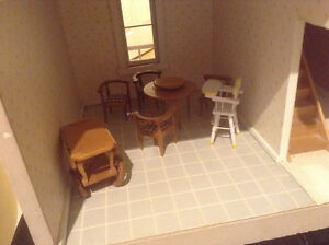 beautiful hand-made doll house ath furniture North Shore Greater Vancouver Area image 5