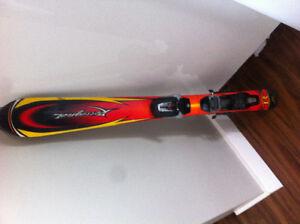 Skis alpin pour enfant 100 cm