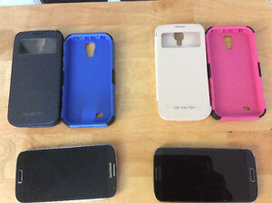 2 Samsung Galaxy S4's & accessories