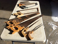 Collection of Vintage Saws