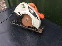 Black and decker ks64 1300watt circular saw can post
