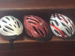 Bike Helmets (All Still Available)