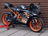 KTM RC 125 ABS 2015. Delivery Available *Credit & Debit Cards Accepted*