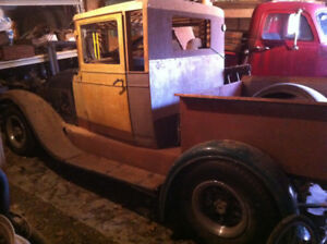 1928 Chevrolet Hot Rod Pickup Project, with Ownership, 28 Chevy