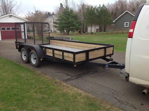 NEW PRICE Firm !! Landscape trailer for sale