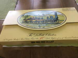 The DeWitt Clition electric train set