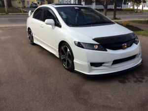2008 CIVIC TONS OF MODS NEVER SEEN SALT $8500 TAXES IN 100 KM