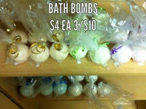 Bath Bombs by Brenda