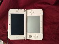 3ds XL with charger and games