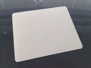 Blank white mouse pads & transfer sheets