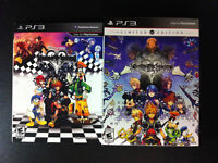 Kingdom Hearts 1.5 and 2.5 Limited Editions