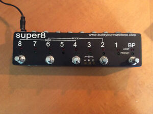 Super8 looper switcher programmable - Nano 360 looper