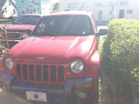 2004 Jeep Liberty Sport for parts