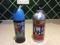 Simpsons Duff Beer Aluminium Water Bottle