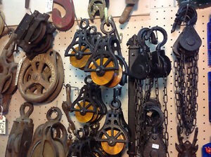 Much cast iron hardware, wool rugs, St.glass lamps....... Prince George British Columbia image 1