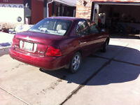 2004 Nissan Sentra Sedan for sale
